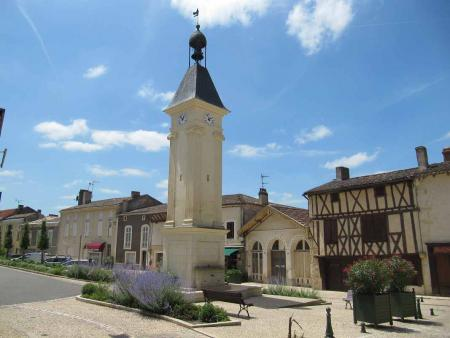 Ferienhaus in Gensac