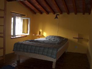 Aquitanien - Schlafzimmer mit Leseecke