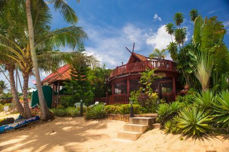 Ferienhaus , Bang Por Beach, Maenam