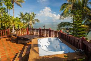 Private Jacuzzi on the master bedroom's balcony