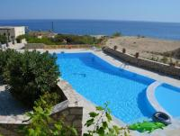 'Oasis at the sea' Apartments with pool direct by the sea . Nikolas