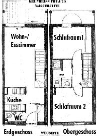Raumaufteilung Villa 20
