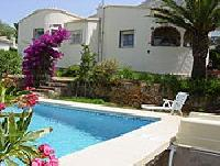 Detached Vacation Home in Denia, Costa Blanca with Private Garden, Garage, and Pool; Sea View
