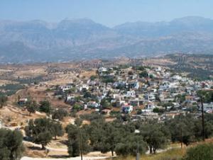 The village Kamilari