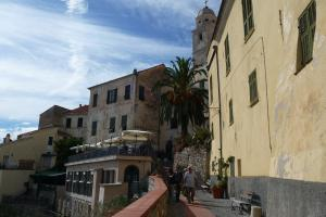 Cervo, a nice excursion place on seaside