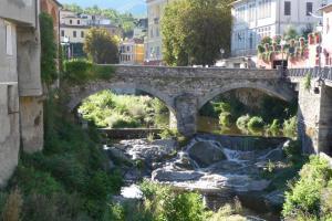 old bridge in Borgomaro