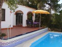 Vacation house with a pool of one's own, garden and sea view at Lloret de Mar at the Costa Brava