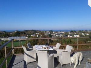 View to Plougrescant-Phare de Heaux - Sillon