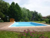 Villa with 2 houses, private garden and balcony. One house is available. 2 bedrooms. For 4 people.