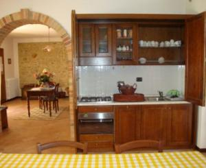 Main living room and kitchen