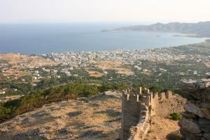 View of Karystos & Castle