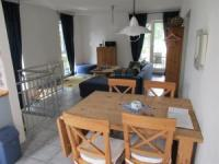 The apartment includes a sunny terrace, 2 bathrooms and bedrooms, suitable for 4 persons