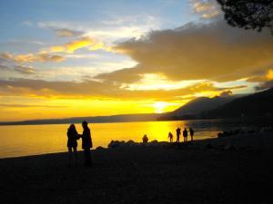 Romantic Lake Garda: Toscolano Maderno's beach