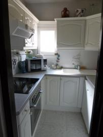 small kitchen but evertything is available